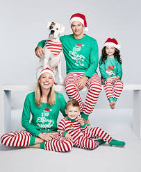 family pajamas elfing around pajama sets created for macy s