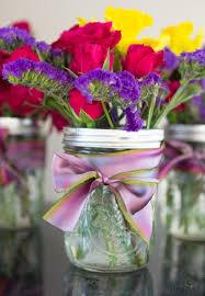 jar floral centerpieces 10 ways to make jar flower arrangements
