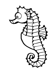sea creatures coloring page cute sea animals coloring pages