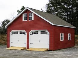 classy garage with red vinyl siding garages u2013 woodtex