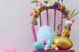 Easter Home Decorations Uk by How To Make A Punched Flower Egg Hobbycraft Blog