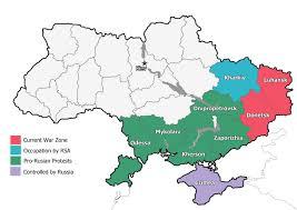 ukraine map ukraine war map