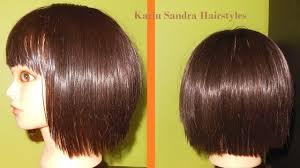 short layered bob haircut tutorial with bangs bob haircut with