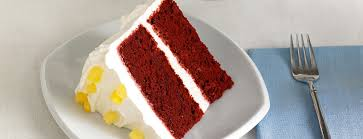 pineapple red velvet cake dessert recipes dole packaged foods