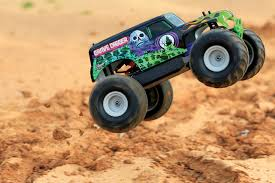 grave digger monster trucks remote control grave digger monster jam truck by traxxas