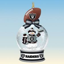 oakland raiders snow globe ornaments your 1st one is free the