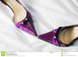 wedding shoes purple purple wedding shoes stock photography image 13919992