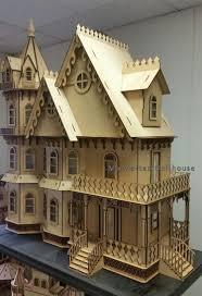 Gothic Victorian House Leon Gothic Victorian Mansion Dollhouse Kit Leon Gothic Victorian