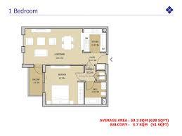 views 1 bedroom apartment floor plan
