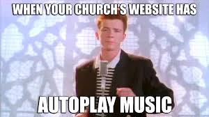 Meme Website - top church website struggles all churches face meme edition