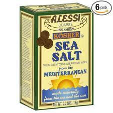 kosher chagne kosher sea salt it doesn t everything the needs 25