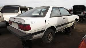 subaru loyale 1990 junkyard treasure 1989 subaru dl liftback coupe autoweek