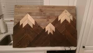 wooden mountain wall album on imgur