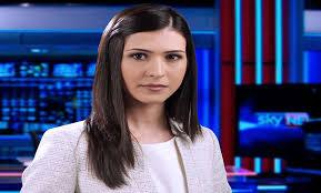 saudi female news anchor in conversation with sky news arabia s imane lahrache asharq al