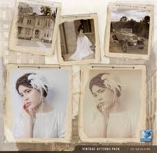tutorial photoshop old picture 50 free photoshop actions for adding vintage retro effects