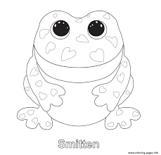 print smitten beanie boo coloring pages for beanie boo coloring