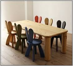 childrens wooden table and chairs nz chairs home decorating
