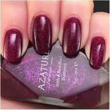 azature nail lacquer review model city polish