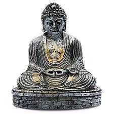 sitting desktop buddha ornament statue co uk kitchen home