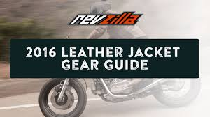 best leather motorcycle boots 2016 leather motorcycle jacket buying guide at revzilla com youtube