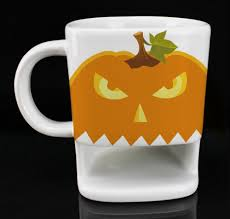 halloween coffee mugs pumpkin kitchen decor and accessories
