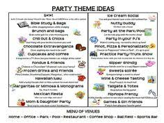 here s a list of 50 fantastic theme ideas for your direct