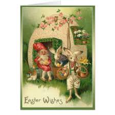 easter gnome greeting cards zazzle