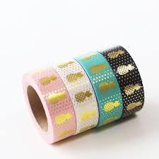 washi tape gold foil pineapple washi tape kawaii pen shop