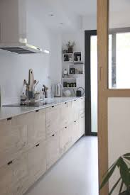 ikea frosted glass kitchen cabinets before after a designer s ikea hack kitchen in provence