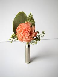 bullet flowers bullet casing boutonniere bullet shell boutonniere