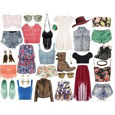 summer hipster polyvore