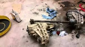 removal and install of transfer case ford f 150 1997 youtube
