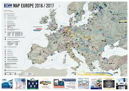 Europe Map by Europe Map Supply Chain Media