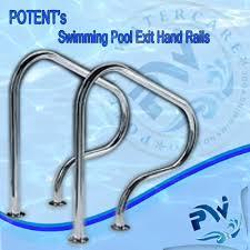 Swimming Pool Handrails Swimming Pool Grab Rail Wholesale Distributor From New Delhi