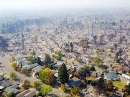 california fires aerial photos show california wildfires from