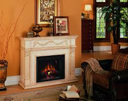 55 u0027 u0027 gossamer antique ivory electric fireplace 28wm184 t408