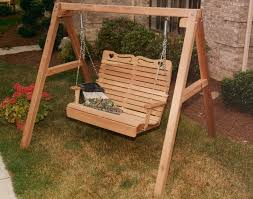 Porch Swing With Stand Patio Furniture Patio Swing With Standc2a0 Chair Stand Canopy