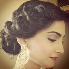 bridal hair for oval faces top and diverse hairstyles to go with saree part 1 saloni