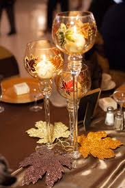 fall wedding table centerpieces we got these goblet on sale