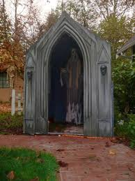 Decorations Halloween Cemetery Props by 13 Best Halloween Mausoleums U0026 Crypts Images On Pinterest