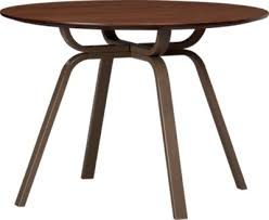 cb2 round dining table fab finds cb2 austin interior design by room fu knockout interiors