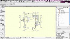 How To Draw A House Floor Plan Archicad Basic Training Lesson 1 Quickstart Course Overview