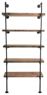 Timber Bookshelf Zeppelin Bookshelf Industrial Bookcases By Arc Timber