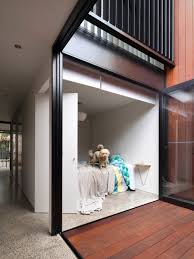 narrow long terrace house renovation design idea home