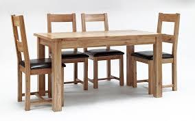 Rustic Oak Dining Table Hampshire Furniture - Rustic oak kitchen table