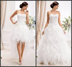 two wedding dresses 2015 two in one wedding dresses with detachable skirt sweetheart