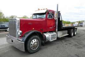 used peterbilt trucks 1988 peterbilt 357 rollback truck for sale by arthur trovei u0026 sons
