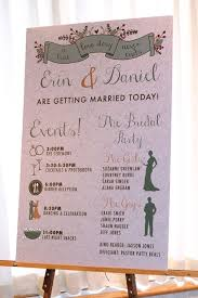 wedding program board weddingwednesday programs bc tent awning