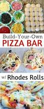 rhodes rolls build your own pizza bar recipe rhodes rolls rhodes rolls build your own pizza bar