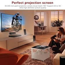 leshp 1080p hd 3d projector 3200 lumens 5 0 inch lcd tft display